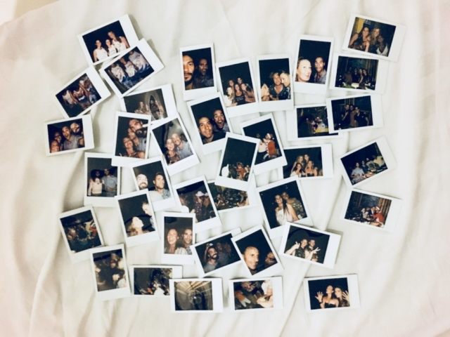 Polaroids after Deep Week after party.