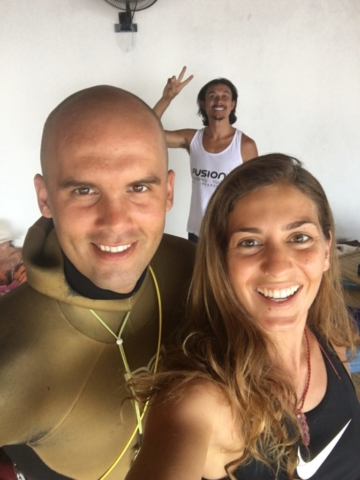 Alexey Molchanov, world record freediver 130m at Apneista, Amed Bali